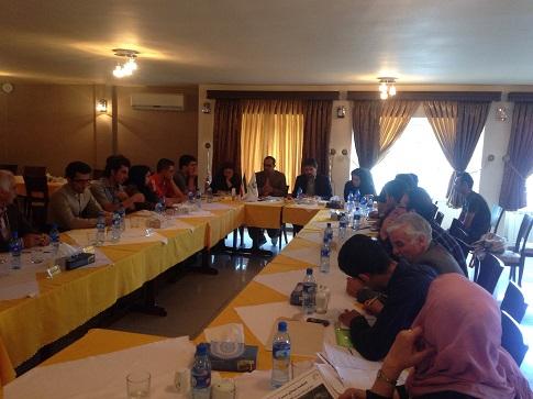 نشست شبکە بندی سمن های زیست محیطی کردستان