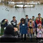 میزبانی کودکان چیا از پرندگان در تالاب زریبار