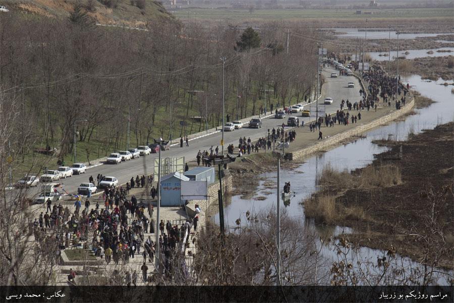 بزرگترین گردهمایی مردمی به منظور حفاظت از تالاب زریبار برگزار شد.