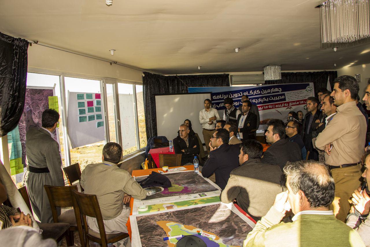 چهارمین کارگروه تدوین برنامه مدیریت یکپارچه زیست بومی تالاب زریبار