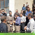 ادای احترام انجمنهای زیستمحیطی کوردستان به خانواده شهیدان سبز_نوسود