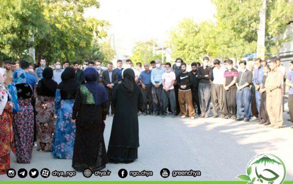 ادای احترام انجمنهای زیستمحیطی کوردستان به خانواده شهیدان سبز_سریاس