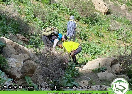 """پاکسازی مسیر """" کونە شەمشەم """" بە طرف روستای """" تۆراخ تەپە """""""