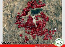  ۱۲۰۰ مورد تخریب و تصرفهای شناسایی شدە توسط انجمن سبز چیا در شهرستان مریوان